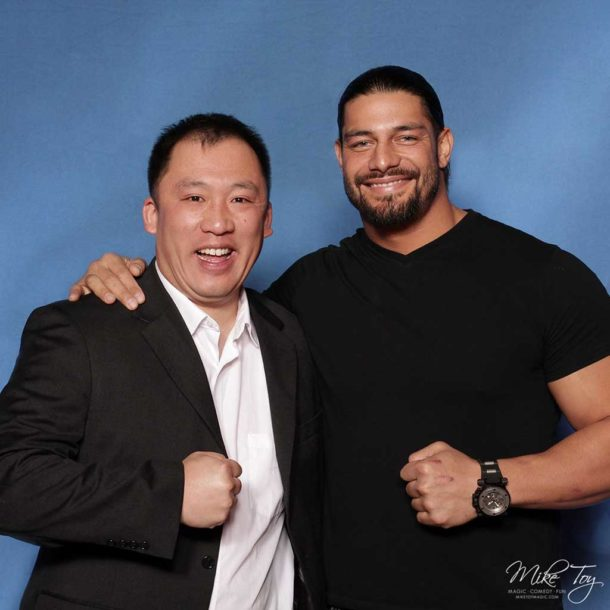 roman reigns and mike toy